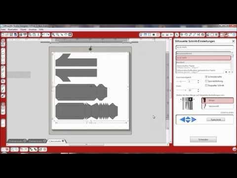 ▶ Wie schneidet man SVGs richtig in Silhouette Studio - YouTube