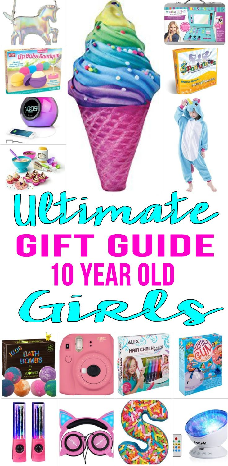 Gifts 10 Year Old Girls WILL LOVE! Amazing gift ideas for girls - great for tweens, pre teens and teens. Fun products for kids. Perfect for Christmas, birthdays and holidays.