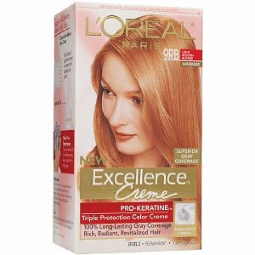 The best stawberry blonde hair dye for at home use.