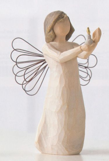 This was the very 1st angel I ever purchased. She holds very special meaning for me ....