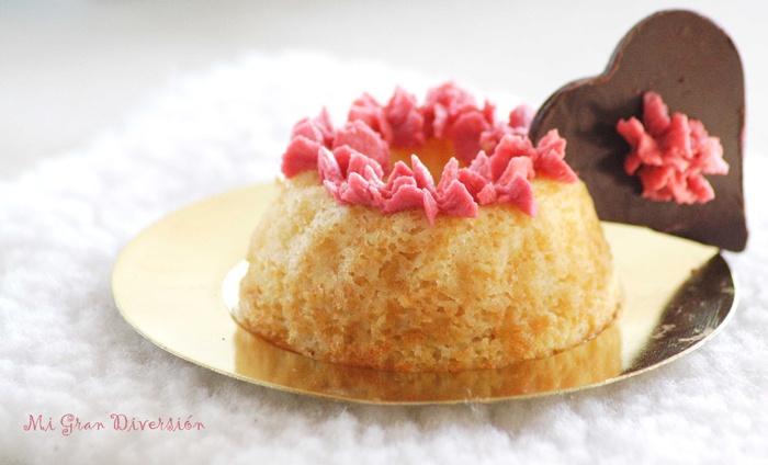 Mi Gran Diversión: Coronas de ángel con crema de frambuesa (Idea San Valentín y Aprovechamiento claras).
