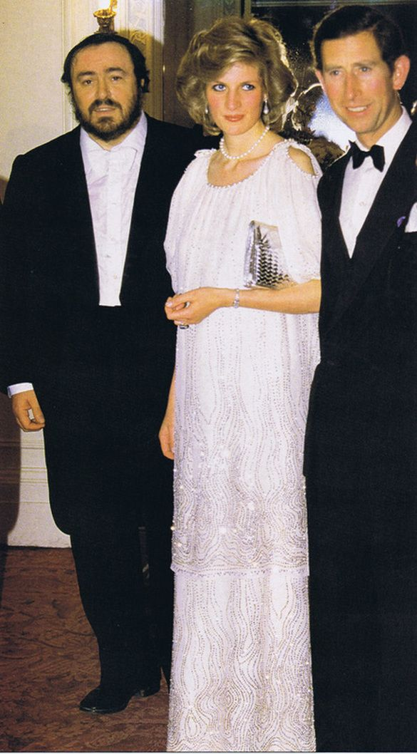 Memories Of Diana - Attending Royal Opera House Fund Raising Gala Concert by Luciano Pavorotti - May 20th 1984