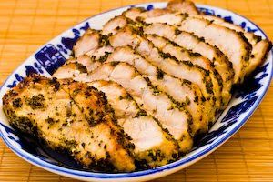 Kalyn's Kitchen®: Recipe for Pork Roast with Sage or Rosemary Herb Rub