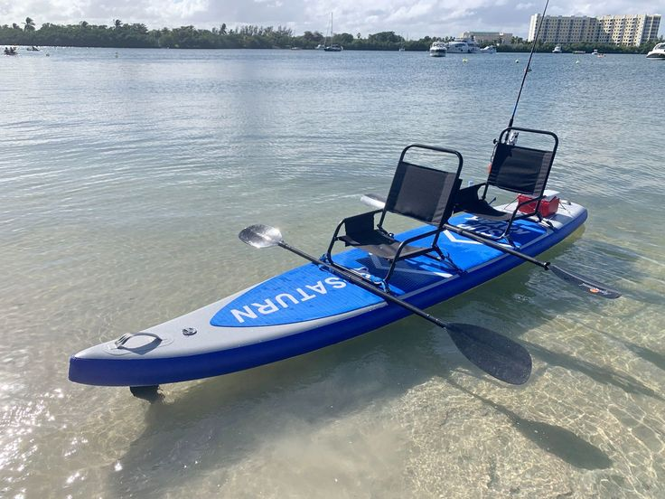 Convert SUP into kayak with chair in 2020 Tandem