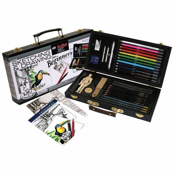 Find Sketching and Drawing Set for Beginning Artists : Royal Brush MFG ( 090672240187 )  and browse other popular gift items in Toys and Games gifts at Booksamillion.com, Books-A-Million's online book store