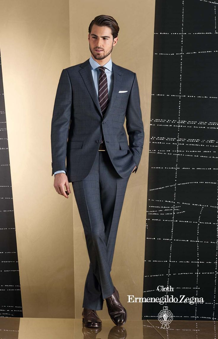 Costum business made to measure, tesatura Zegna, colectia Traveler - compozitie 100% Superfine Australian Wool, 280/290 Gr.