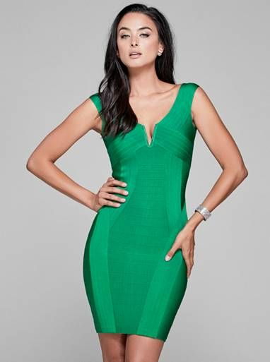 c86c0e21b567 Kandice Off-The-Shoulder Bandage Dress | GUESS by Marciano | dresses ...