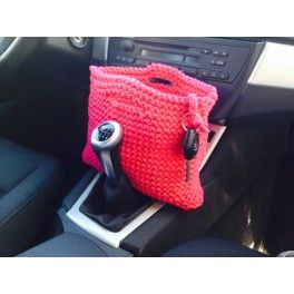 Handle bag #knitting #thewoolcollectio #tejer #trapillo