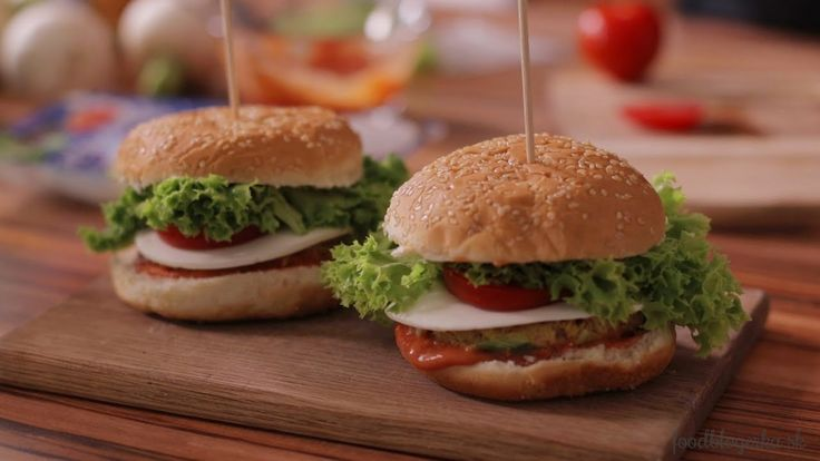 Tuniakové burgre | Tuna burger