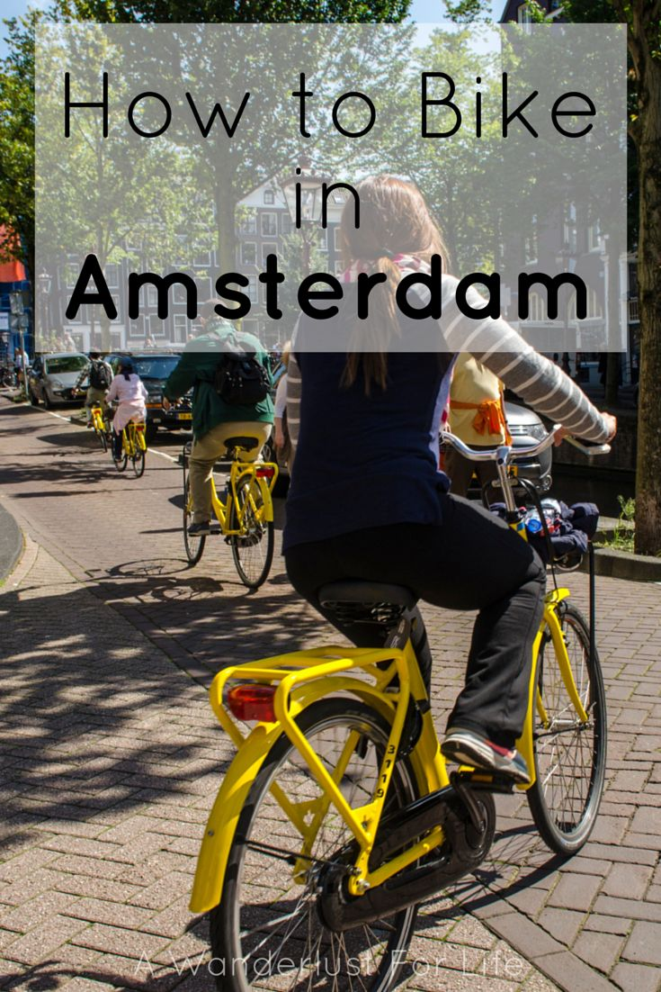 How to Bike in Amsterdam A