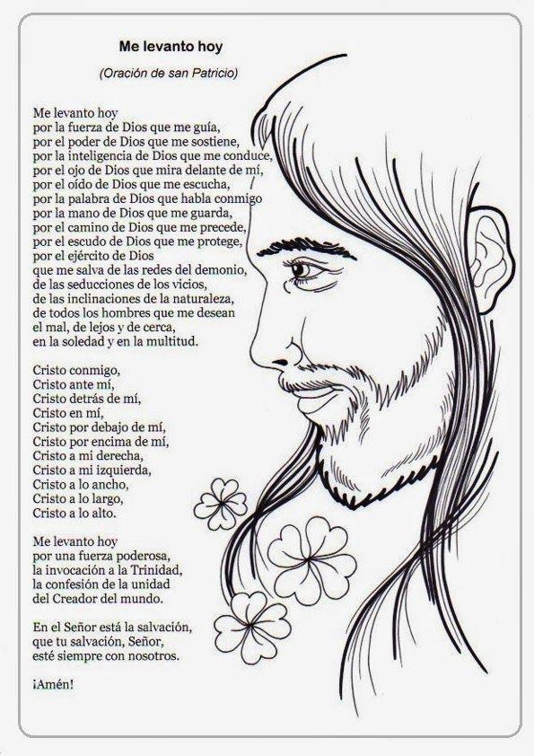 El Rincón de las Melli: Me levanto hoy (Oración de San Patricio)