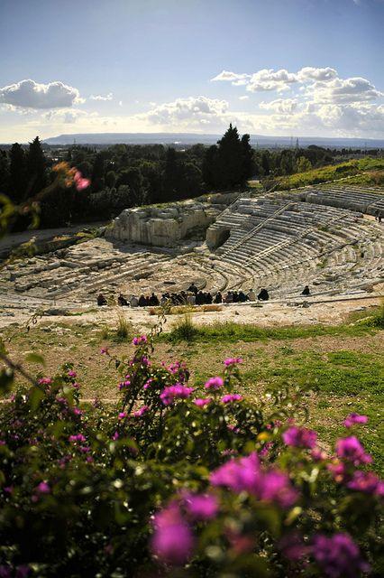 Teatro Greco, Parco Archeologico della Neapolis, Syracuse, Sicily, Italy