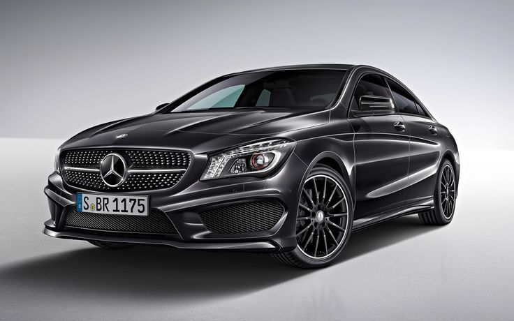 Mercedes Benz Cla Class Edition 1 Car Black Mercedes Mercedes