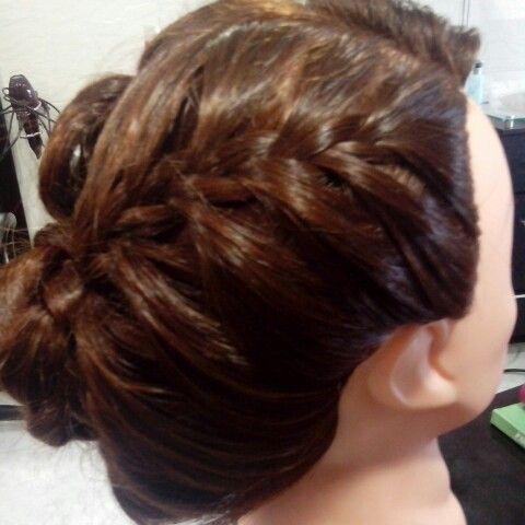 Peinado trenza suelta