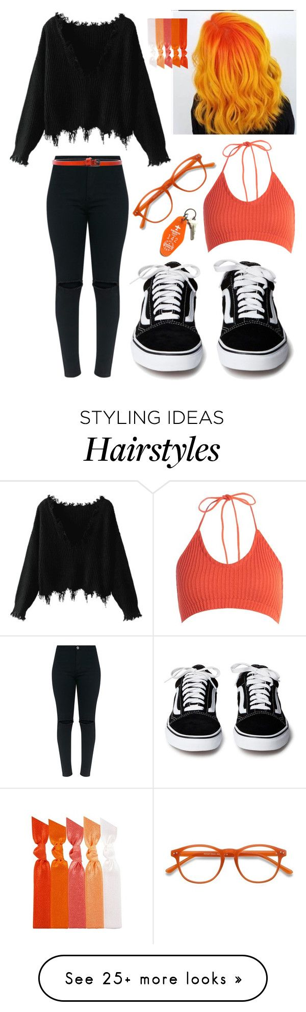 """""""Untitled #446"""" by hampster12 on Polyvore featuring Boohoo, Haider Ackermann, EyeBuyDirect.com, Emi-Jay and Three Potato Four"""