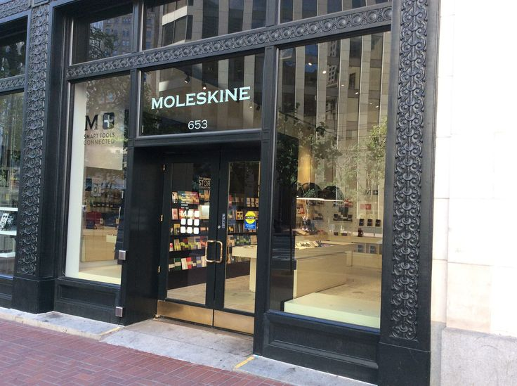 Moleskine Store I San Francisco Market Street |94104 - 653 Market Street Mon-Friday: 10 am - 9pm Saturday 10 am - 8 pm - Sunday 11 am - 7 pm