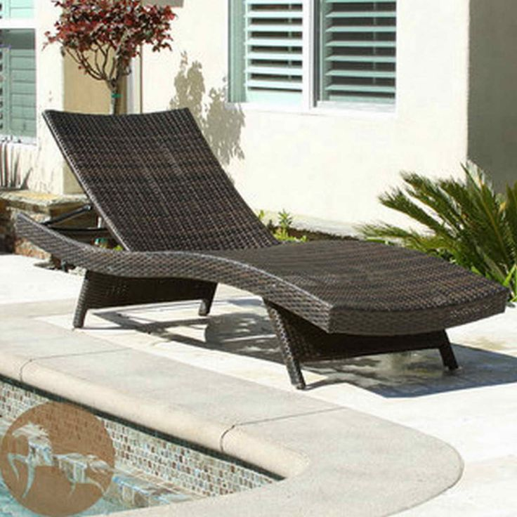 Extra Large Outdoor Lounge Chair