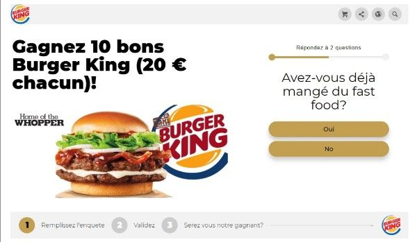 Obtenez Une Carte Cadeau Burger King Burger King Food Burger