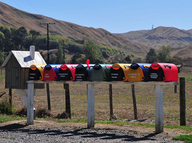 Mail boxes - Pourerere, Hawkes Bay, Hawkes bay New Zealand