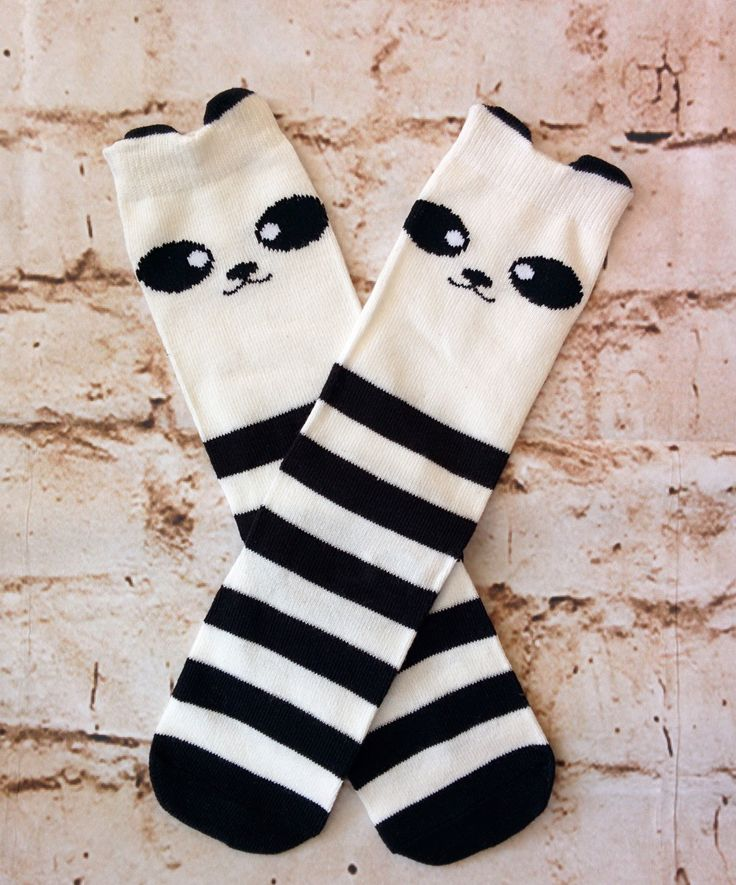 Panda Knee Socks (Infant & Toddler)