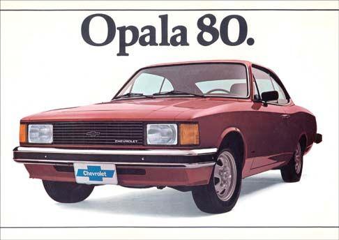 672 - GM - CHEVROLET - Opala 1980 - 29x41-