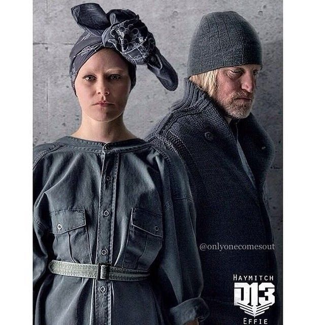Effie and Haymitch mockingjay - Google Search