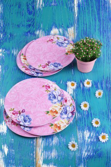 Rose Garden Tatlı Tabağı 6'lı
