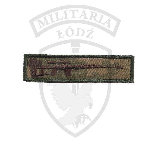 Naszywka SNAJPER multicam Militaria Łódź.pl