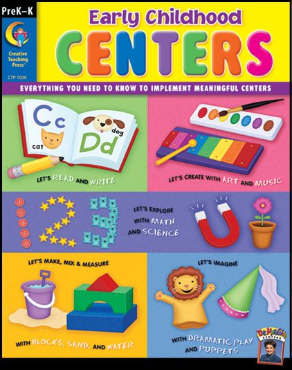 The best field-tested ideas are at your fingertips in this resource that includes creative activities and standards charts to help identify the key learning objectives covered in each centre. Find the Early Childhood Centers resource in the Classroom Essentials Catalogue: OPUS 1983643 Page 56 See the pages here: http://scholastic.ca/clubs/cec/