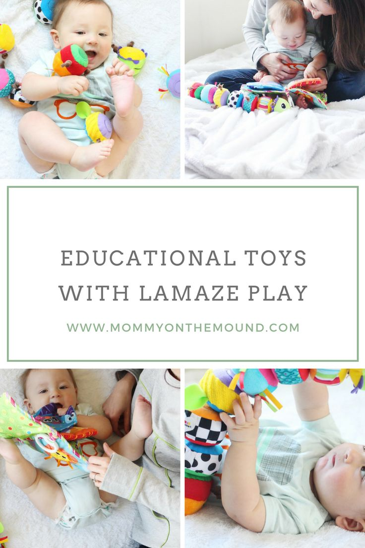 Educational Play with Lamaze Toys – Mommy on the Mound