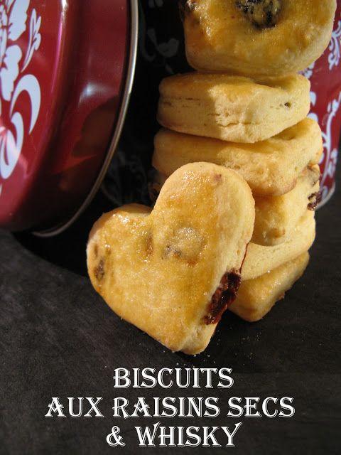 J'en reprendrai bien un bout...: Biscuits aux raisins secs & whisky (Martha Stewart # 9) - A offrir pour la St Valentin
