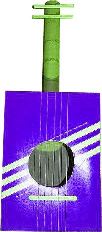#gitaar #muziekinstrumenten #knutselen