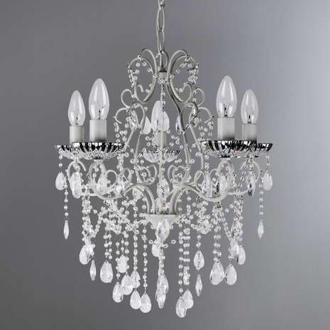 Tiffany Mercury Glass Light Fitting   Dunelm