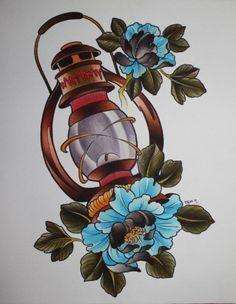 #tattoo #lantern #ink