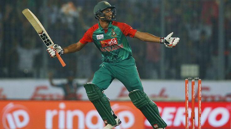 Mahmudullah hit the winning runs for Bangladesh, Bangladesh v Pakistan, Asia Cup 2016, Mirpur, March 2, 2016