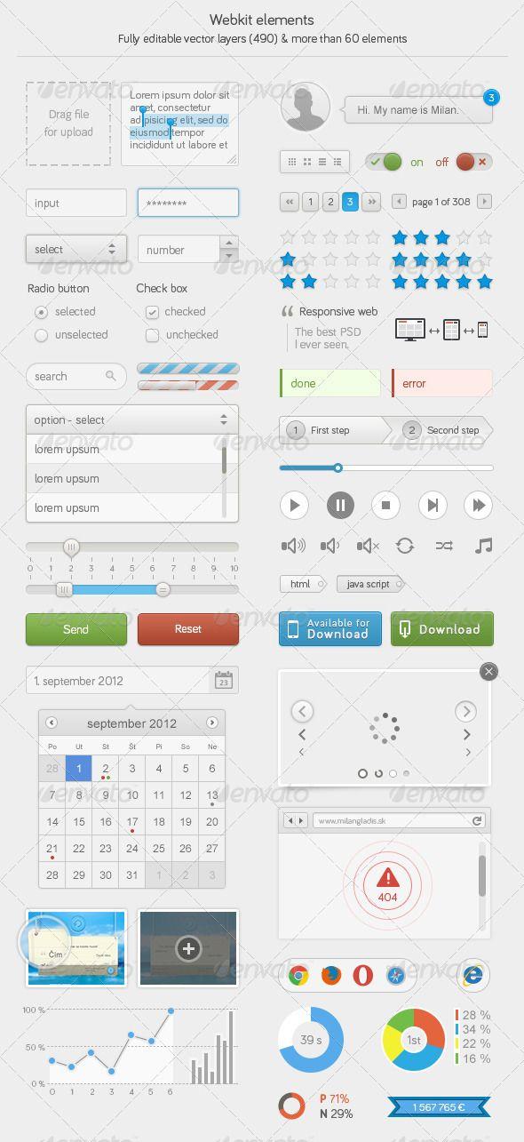 Webkit elements