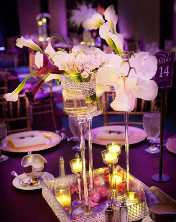 Glamorous and Alluring #Wedding #Centerpieces! To see more: www.modwedding.com