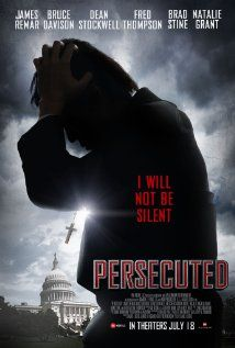 Persecuted (2014) - Very well done. I love the fact that Christian movies are a large part of the mainstream now, and are some of the highest grossing films in the mix.