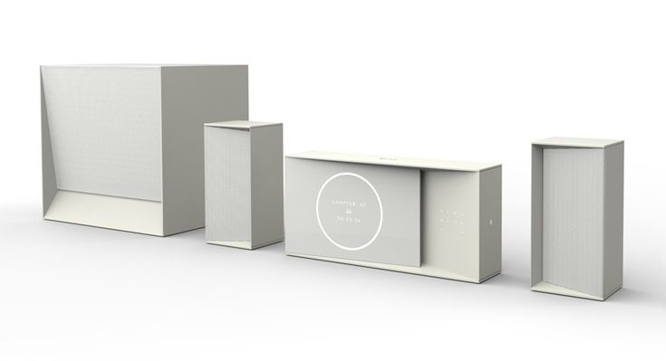 home theater system concept for LG by claesson koivisto rune