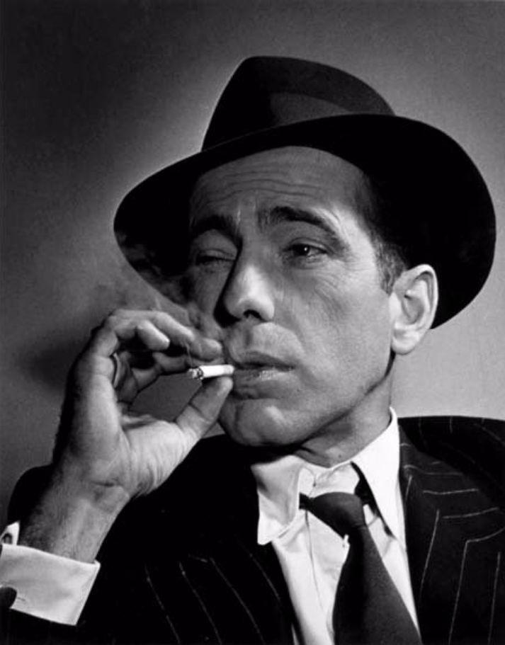 Humphrey Bogart par Benn Mitchell, 1943.