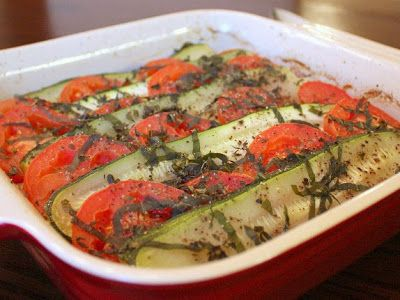 APPLE A DAY: Summer Zucchini and Vegetable Tian