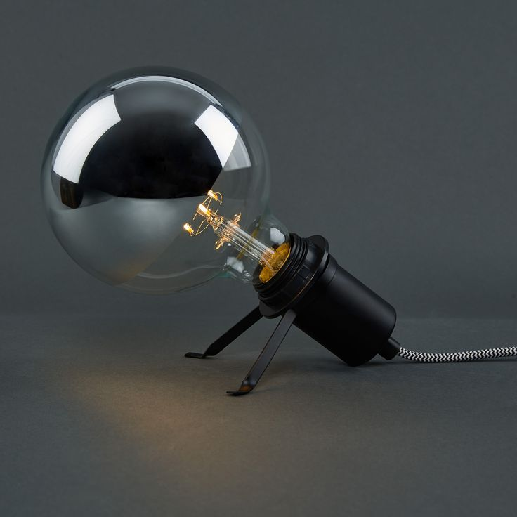 Bei Butlers gesehen: LED-Glühlampe G125 verspiegelt große Glühbirne