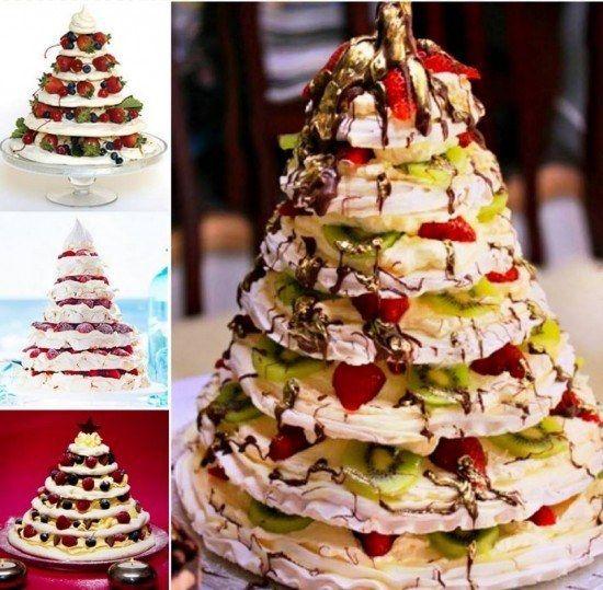 Meringue Christmas Trees   Community Post: 12 OMG Christmas Treats!