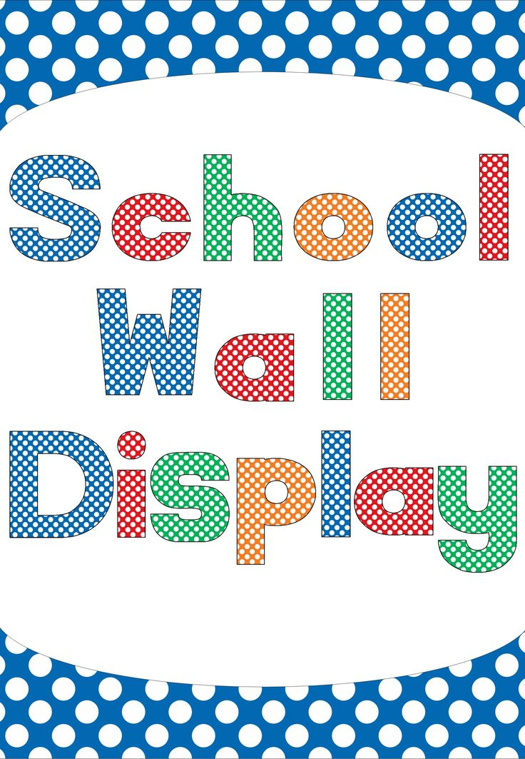 """These polka Dot letters are perfect for your wall display titles. There are 4 beautiful colors to choose from (Blue, Red, Green and Orange) and includes Capital letters, lower case letters, numbers, popular characters such as ! $ % """""""" + etc. 300 pages for $2.95!  http://designedbyteachers.com.au/marketplace/polka-dot-letter-alphabet-wall-display/"""