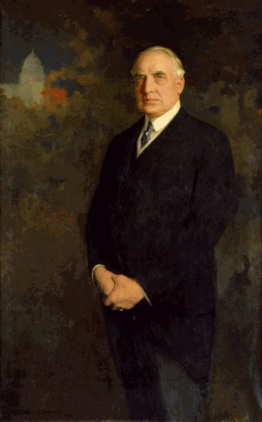Warren Gamaliel Harding was the 29th President of the United States. A Republican from Ohio, Harding was an influential self-made newspaper publisher. He served in the Ohio Senate, as the 28th Lieutenant Governor of Ohio and as a U.S. Senator. Presidential Term, March 4, 1921 – August 2, 1923.