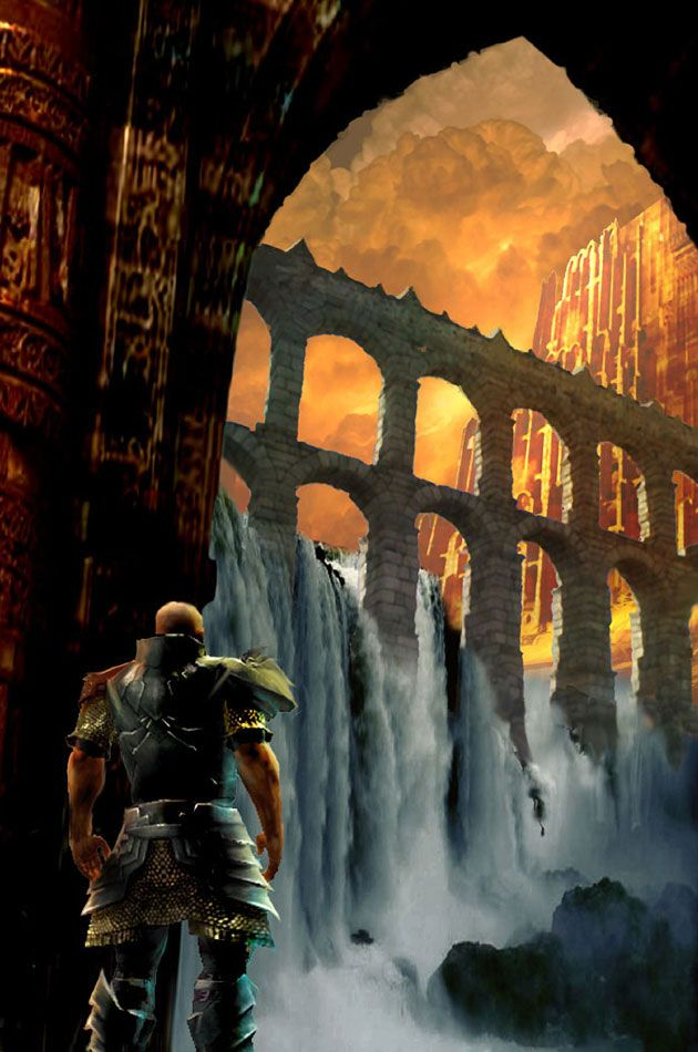 Environment Artwork - Characters & Art - Guild Wars Prophecies