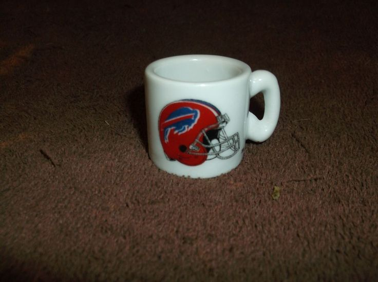 Vintage NFL Buffalo Bills Miniature Football MUG!!! #BuffaloBills