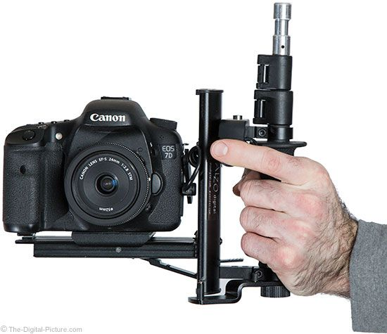 The-Digital-Picture.com's news team presents: Building a Left-Handed Camera Rig