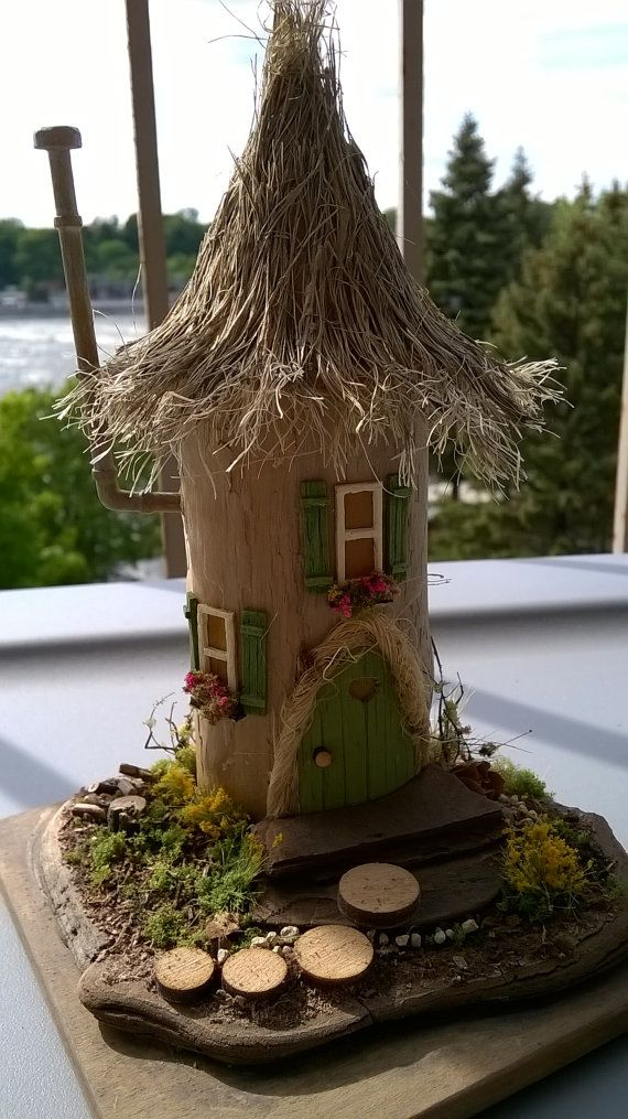 Fairy House Doll house by ModartDiorama on Etsy