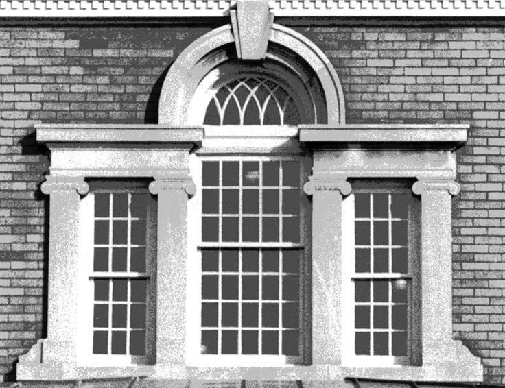 Palladian window in architecture three part window for Palladian home designs